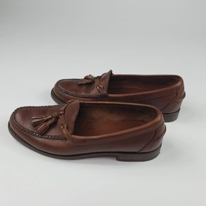 Polo Ralph Lauren Brown Leather Round Toe 10.5